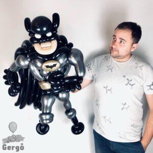 Lufihajtogatás szuperhős - Batman lufiból